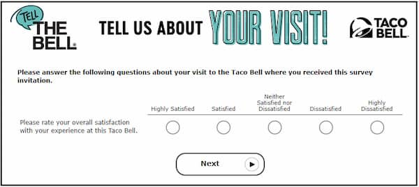Taco Bell Survey Guide