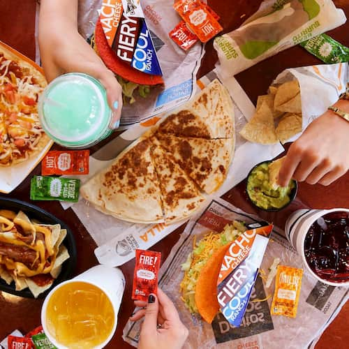 Tacobell food products
