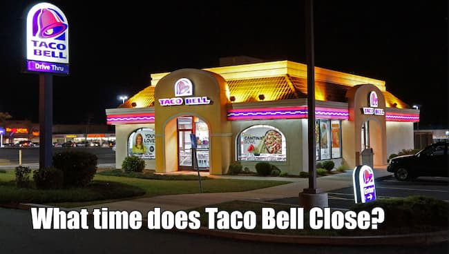 what time does taco bell close