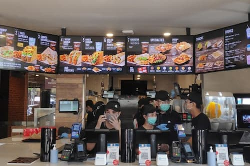 Dining Guide at Taco Bell Indonesia